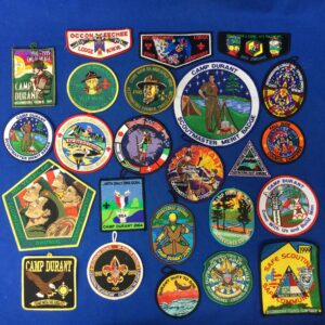 Occoneechee Council & Camp Durant Patches