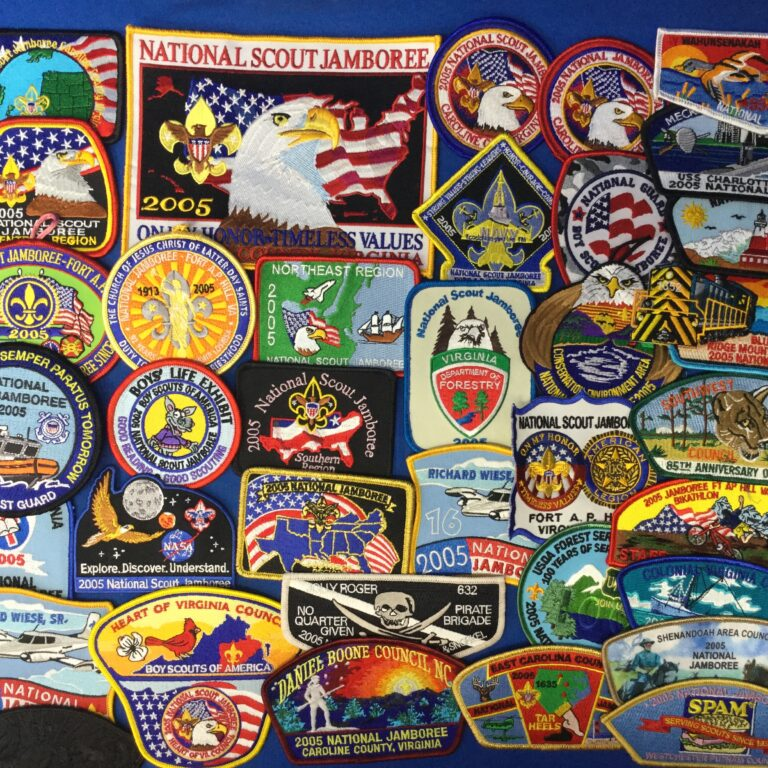 2005 National Jamboree Patches