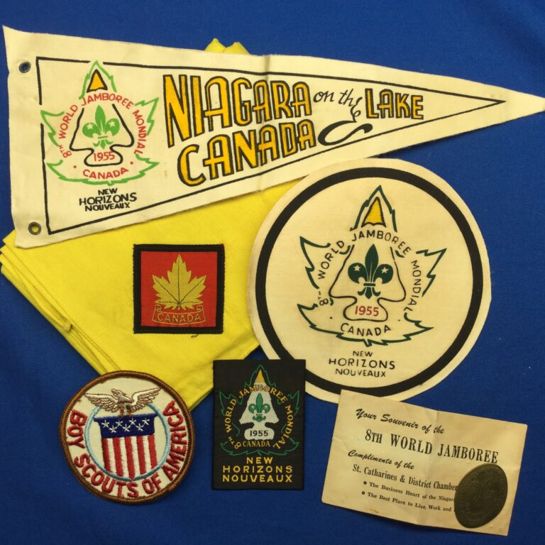 1955 World Jamboree Canada