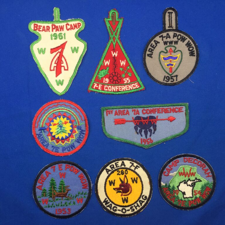 OA Area 7 A, E, & F Patches
