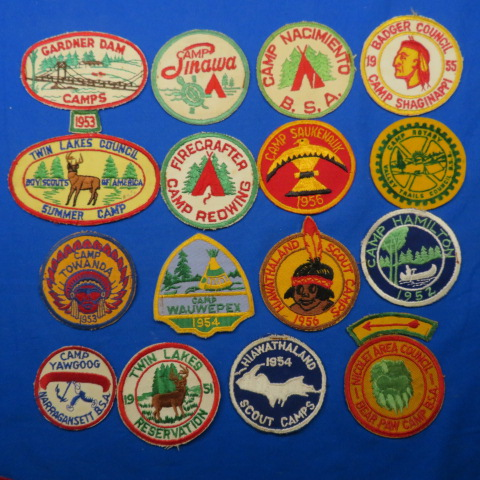 1950's Camp Patches