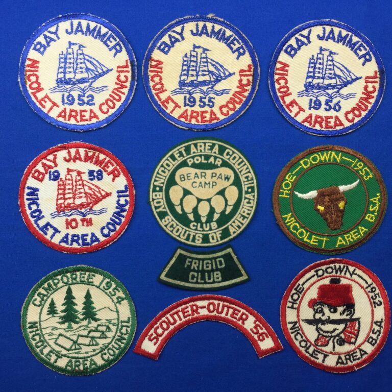 Nicolet Area Council Patches