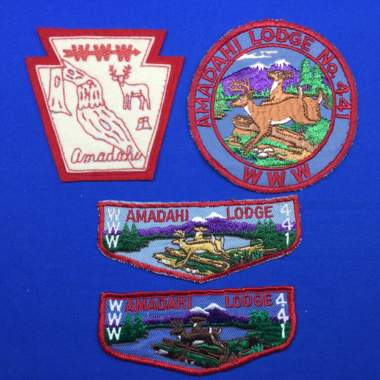 Amadahi OA Lodge 441 Patches