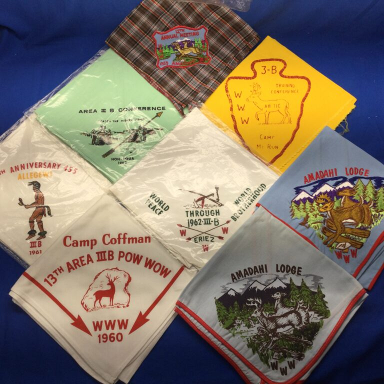 OA Area IIIB & Amadahi Lodge Neckerchiefs