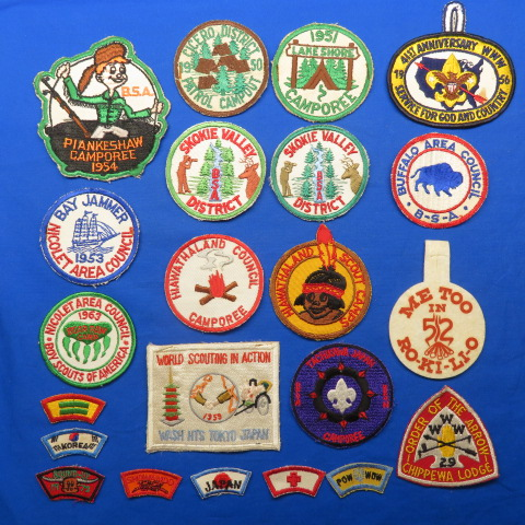 Boy Scout Patches