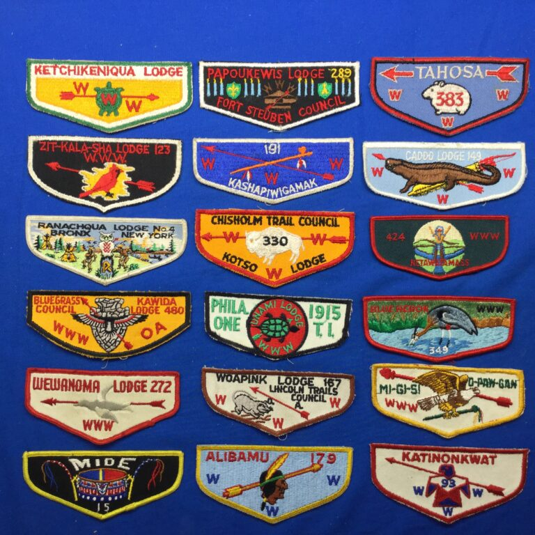 Order Of The Arrow Pocket Flaps