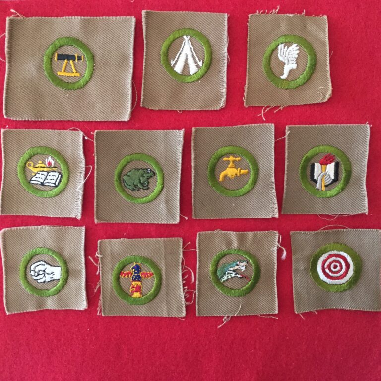 Square Merit Badges