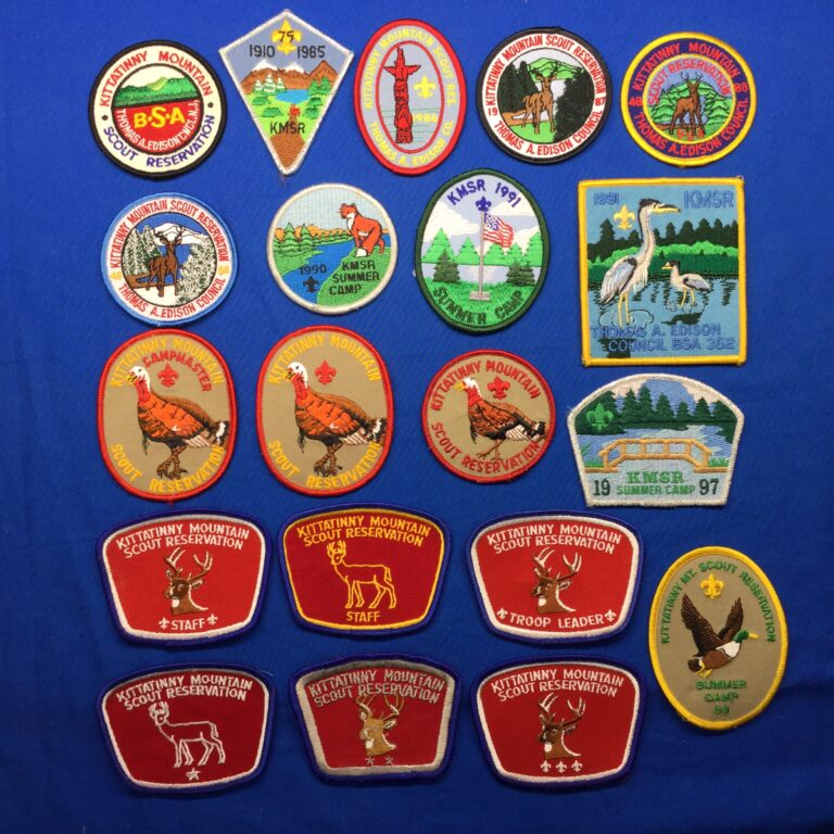 Kittatinny Mountain Scout Reservation Patches