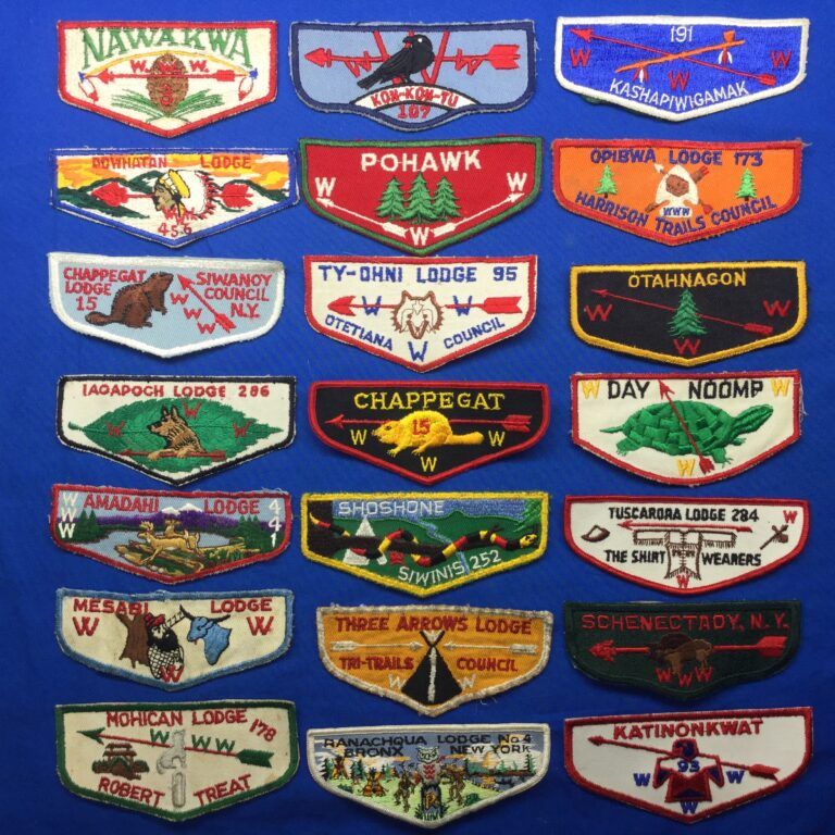 Vintage OA Pocket Flap Patches