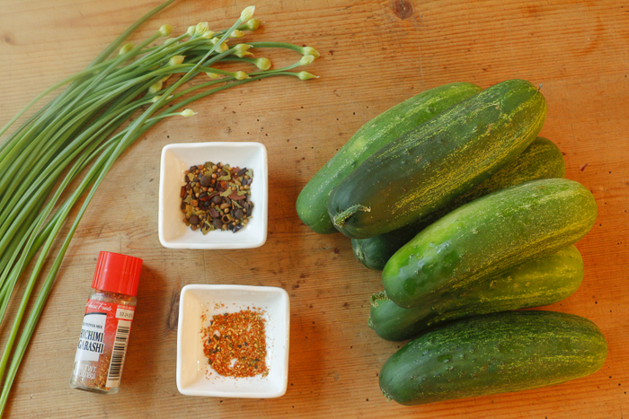 Ingredients for your pickling experience