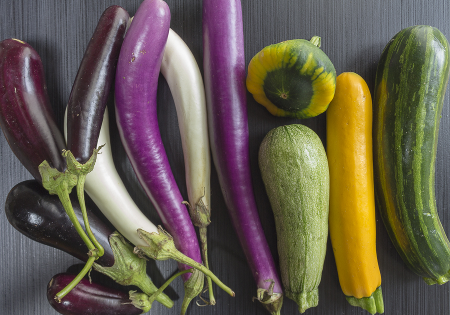 Local Vegetables from a Farmers' Market