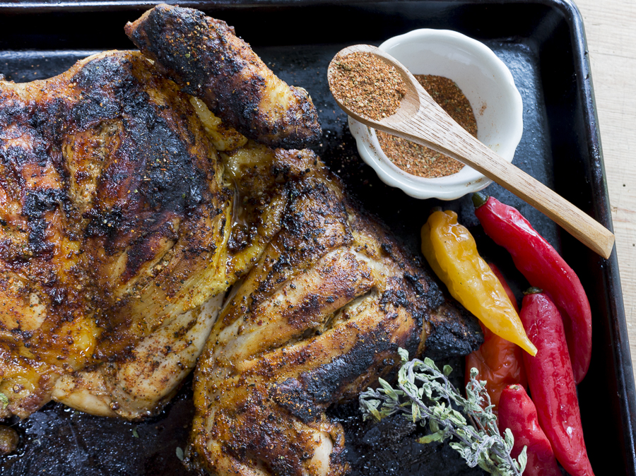 Full of zesty flavors - grilled until tender with a crispy skin