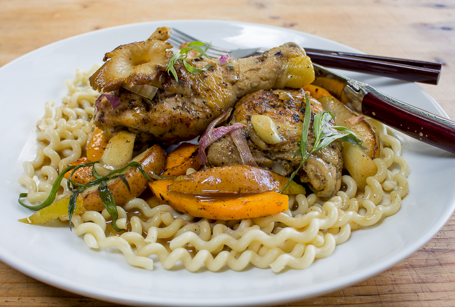 Fall-off-the-bone tender with a generous portion of vegetables