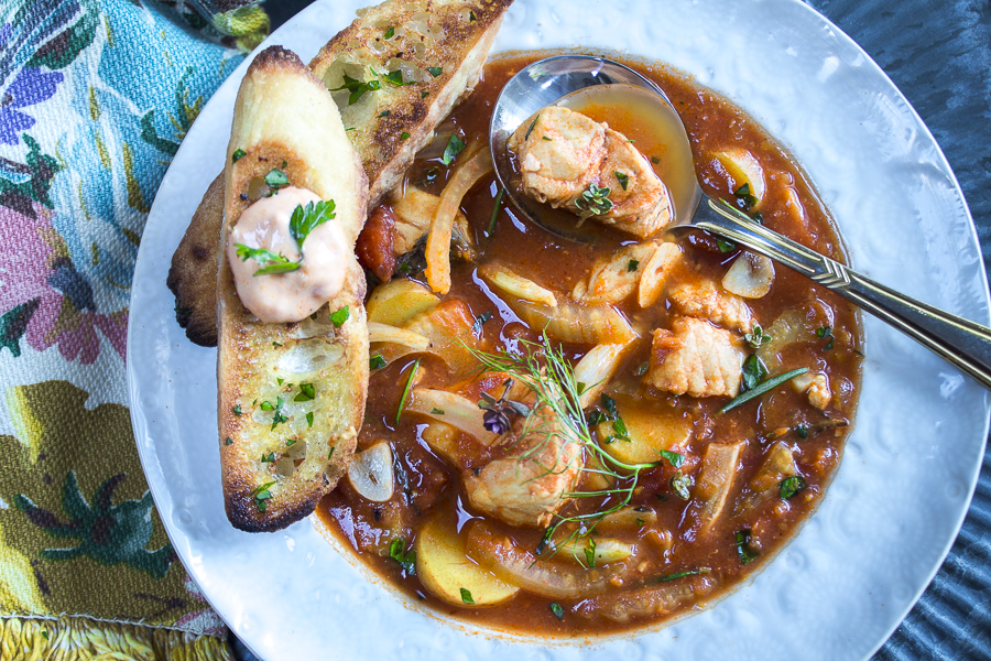 A meal in a bowl! One pot cooking makes this hearty soup your new family-classic dish