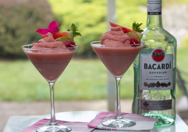 Frozen Boozy Watermelon Frosé - the drink of Summer!