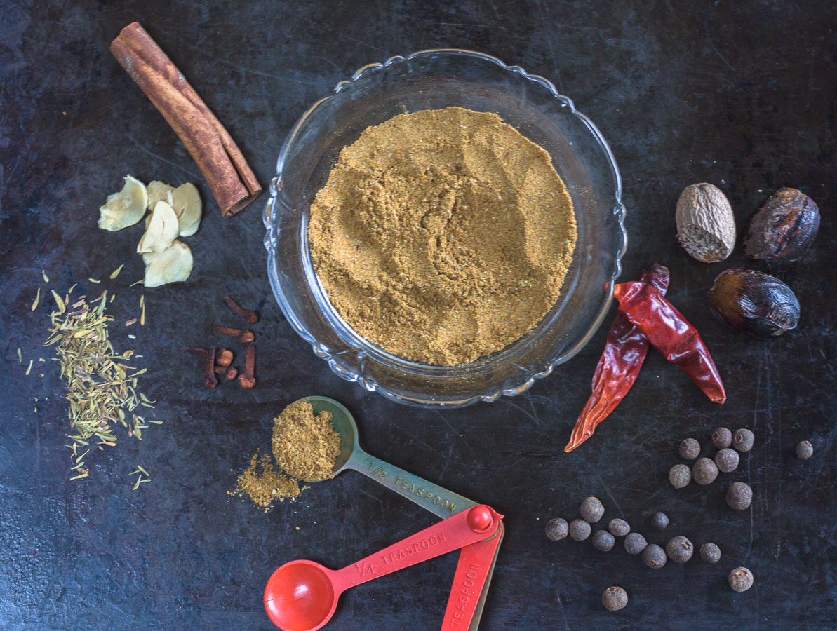 A Zesty and Mildly-Spicy Seasoning Blend. Perfect for everyday cooking – adds a Caribbean flair!