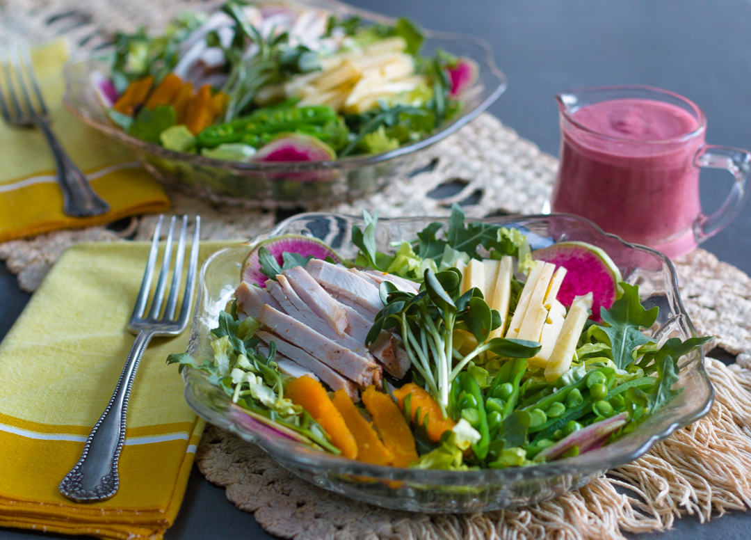 Make the most of your Thanksgiving leftovers with this healthy & tasty salad