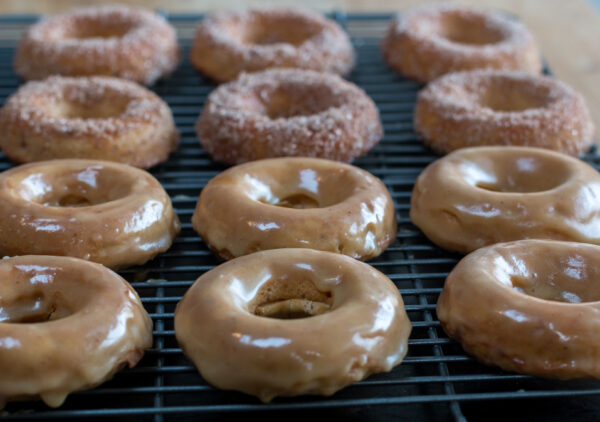 Great caramel glaze for dipping my Baked Applesauce Donuts