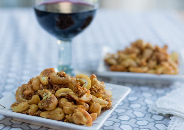 how to make the best Curry Coconut Slow Roasted Nuts