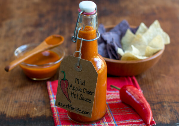 Unbelievable Mild Apple Cider Hot Sauce
