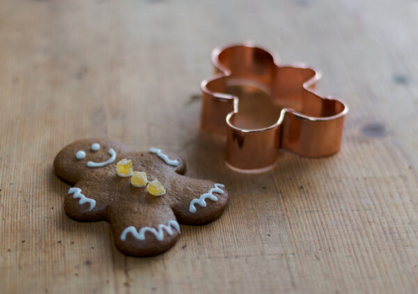 Gingerbread Men Cookies ~ Gluten Free!