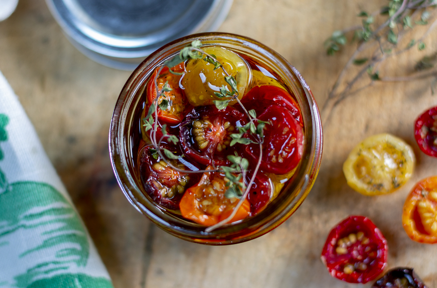 How To Dehydrate Cherry Tomatoes (oven recipe too!)
