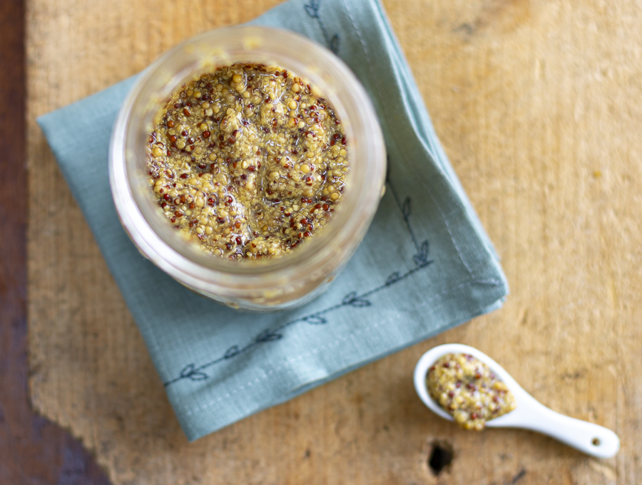 The Best Homemade Grainy Dijon Mustard! And how to use it.