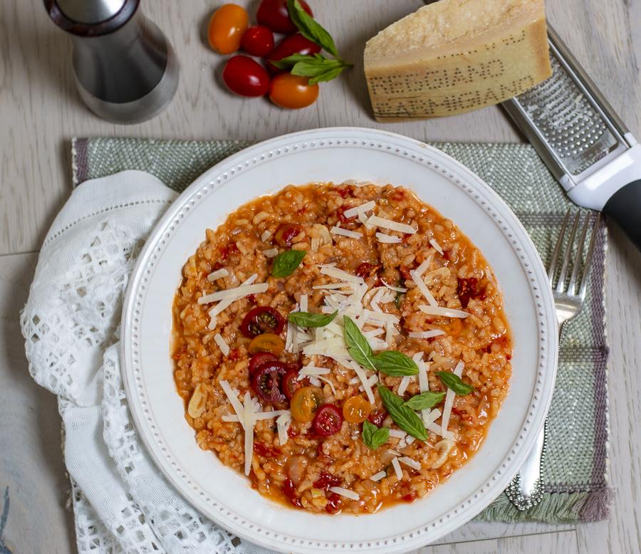 Tomato Risotto – Northern Italian Style