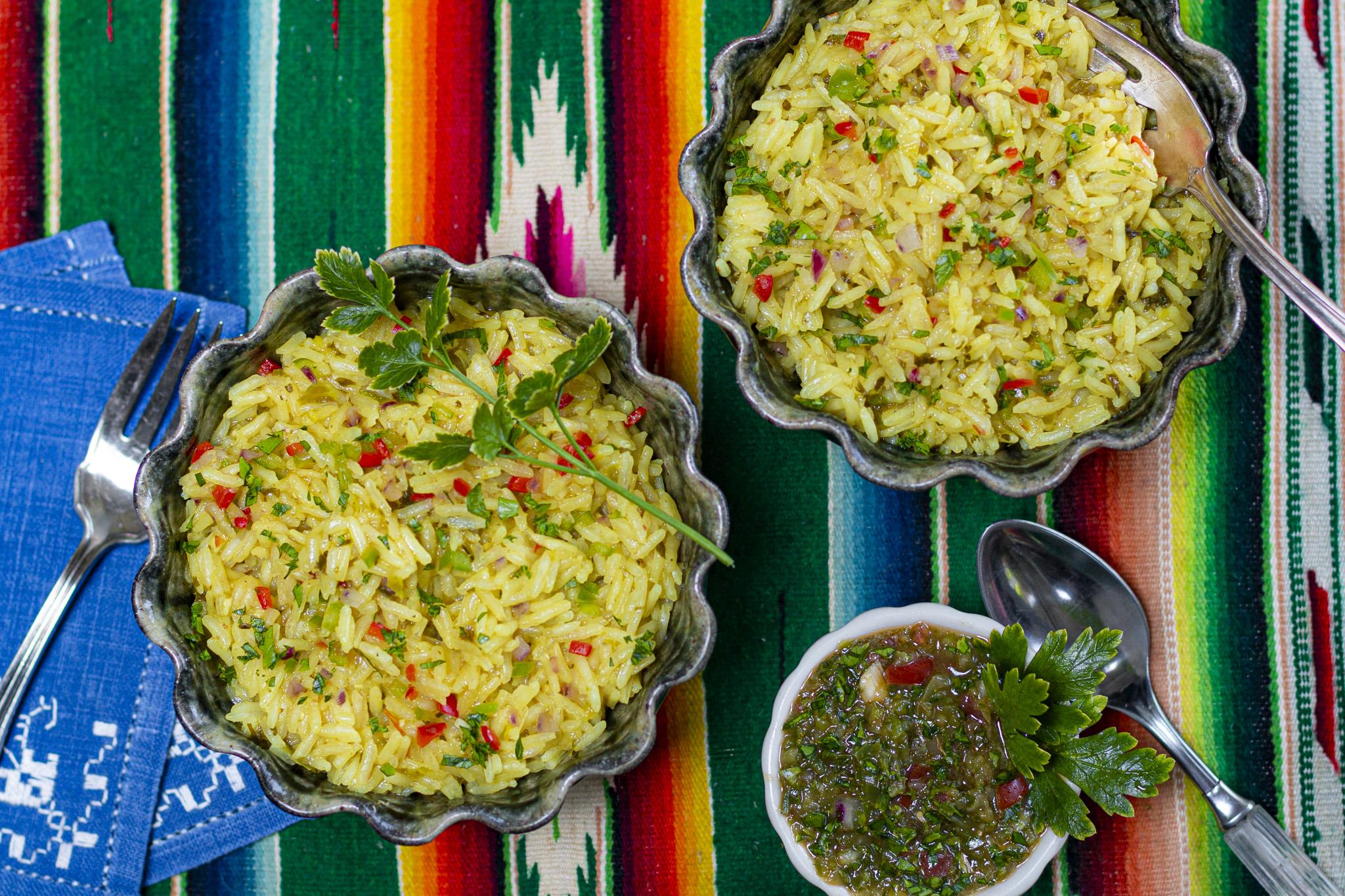Karen's Puerto Rican Sofrito Rice