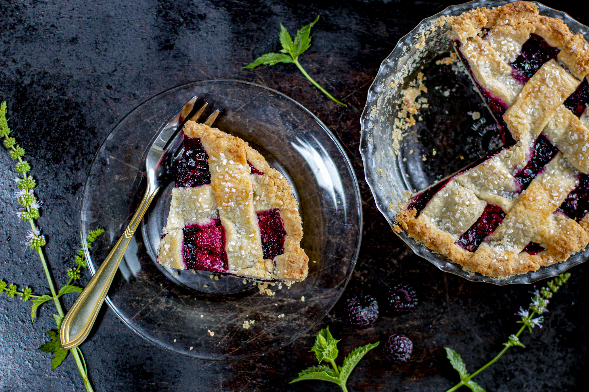 Fabulous Black Raspberry Pie!