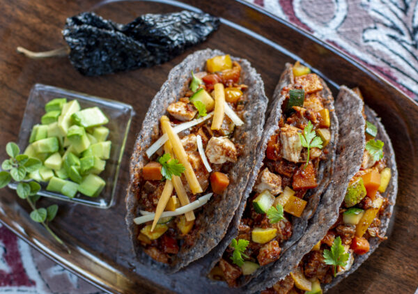 Veggie Mexican-Style Hard Shell Tacos