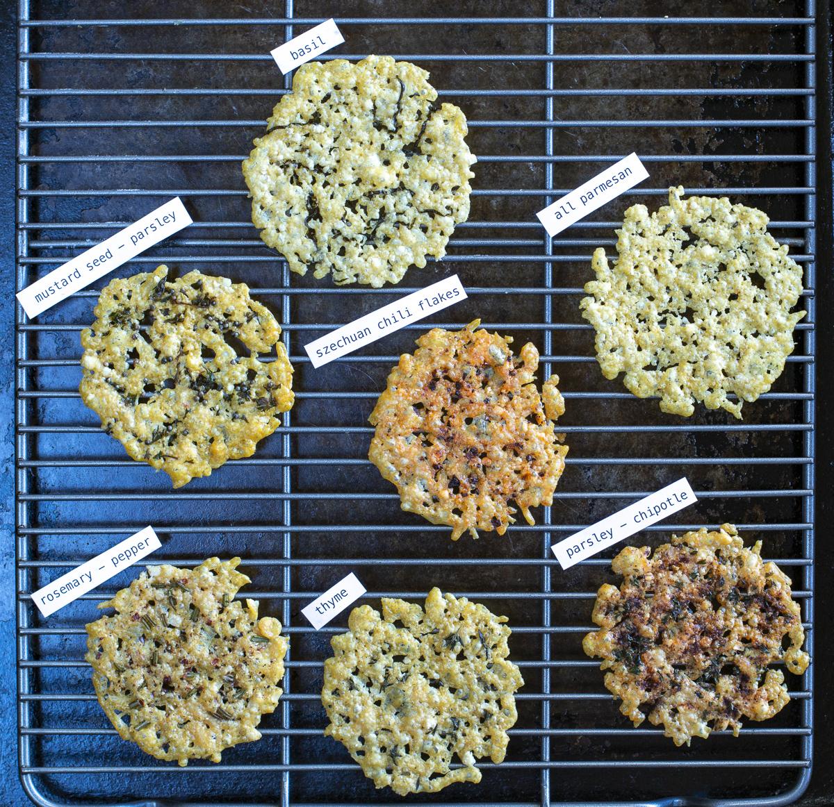 6 Seasoned Parmesan Crisp Ideas