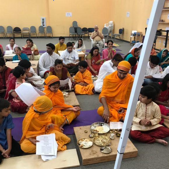 Kids Puja in Paryushan