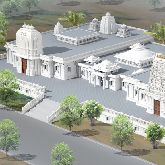 New Jain Garbha Griha