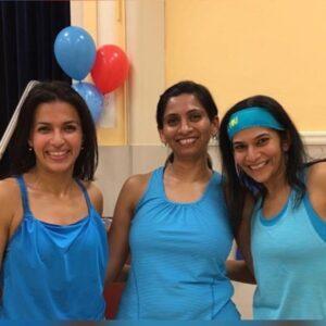(Left to Right) Surabhi, Kanchan and Vandana