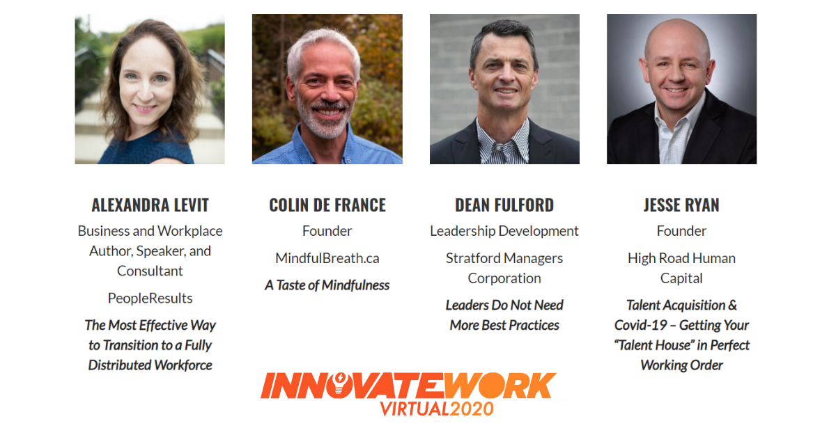 InnovateWork Virtual Event Two