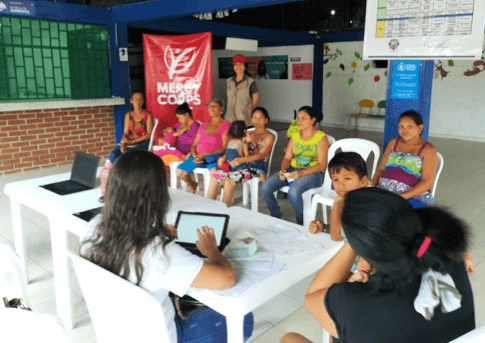 Bastion made possible additional funding for the Direct Cash program Mercy Corps is implementing in Colombia