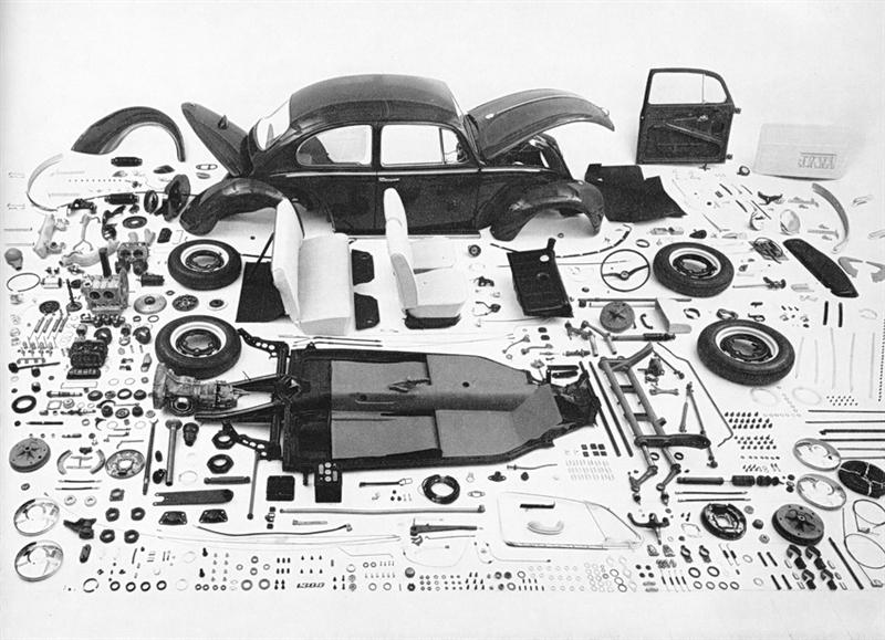 VW Mechanics - Bug Disassembled