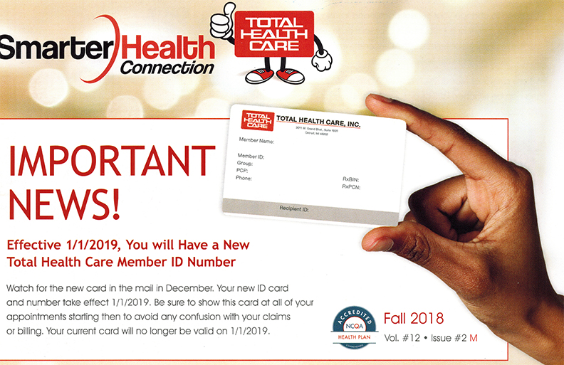 Total Health Care Smarter Health Connection Newsletter