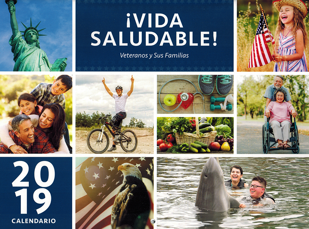 Veterans and Their Families Healthy Living Calendar Spanish