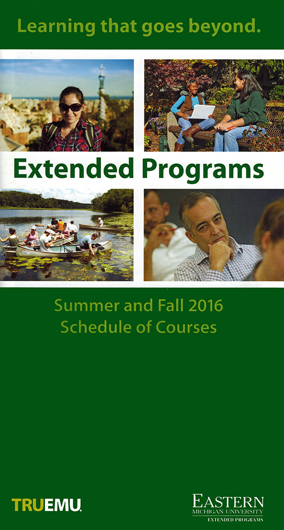 Extended Programs Schedule of Courses