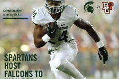 Michigan State Football Game Program