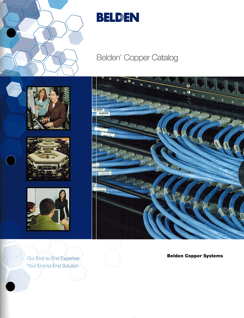 Belden Copper Catalog