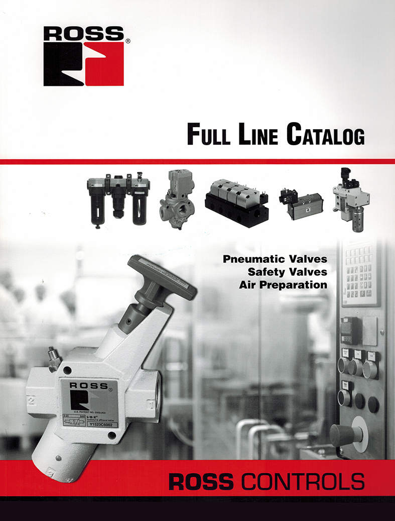 Ross Controls Full Line Catalog