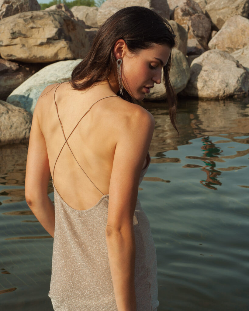 model Alex sterg of Folio Montreal shot by Mégane Brunette