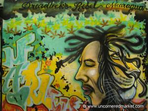 Rastafarian Graffiti - Managua, Nicaragua
