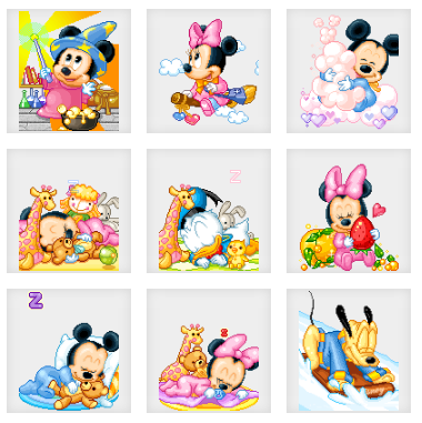 Mickey Mouse and Friends Animated Dollz