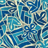 Blu Seamless Pattern Set