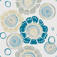 Baby Blu Seamless Pattern Set