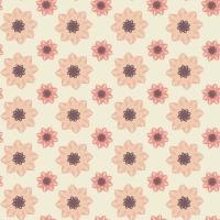 Peachy Mauve Seamless Pattern Set